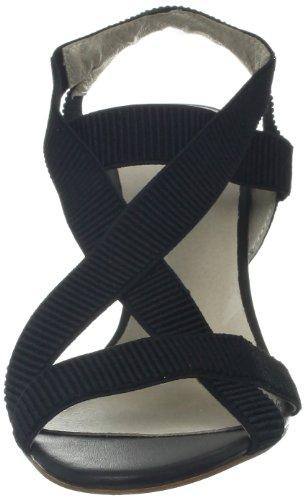 Alle Zwarte Dames Athena-hak Sandaal Zwart