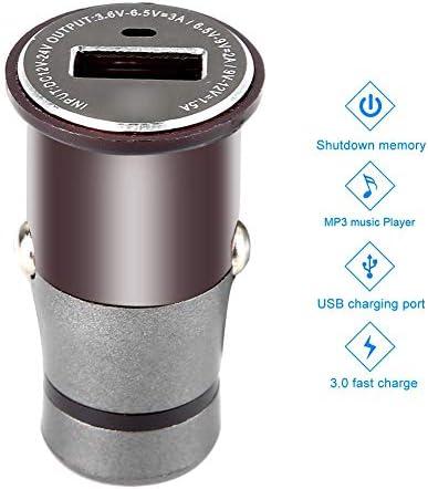 車用USB充電器、携帯用USB 3.0 12-24V高速車用充電器、iPhone Xs max/XR/x/7/6s、iPad、Note 9/Galaxy S10/S9/S8と互換性のある電話MP3 MP4用の急速充電