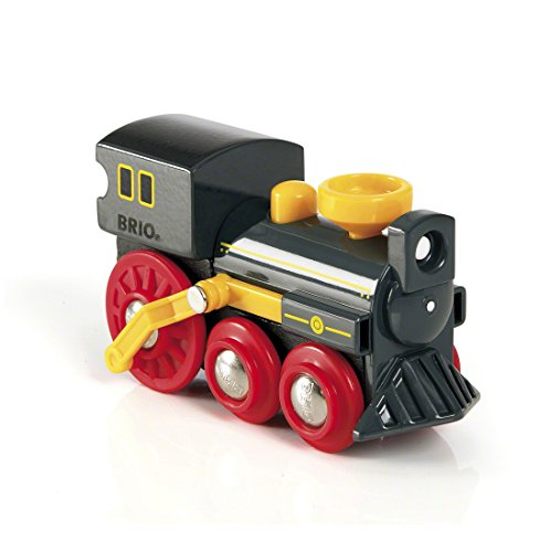 (BRIO World - 33617 Old Steam Engine | Train Toy for Kids Ages 3 and Up)