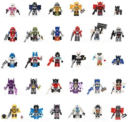 2014 SDCC Exclusive 630509257157 Hasbro Kre-O Transformers Cybertron Class of 84 Micro Changers Minifigure Set Includes 30 Kreons