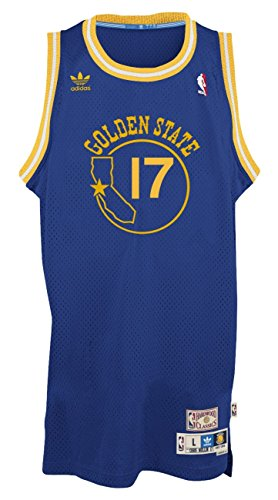 (Chris Mullins Golden State Warriors Adidas NBA Throwback Swingman Jersey - Blue)