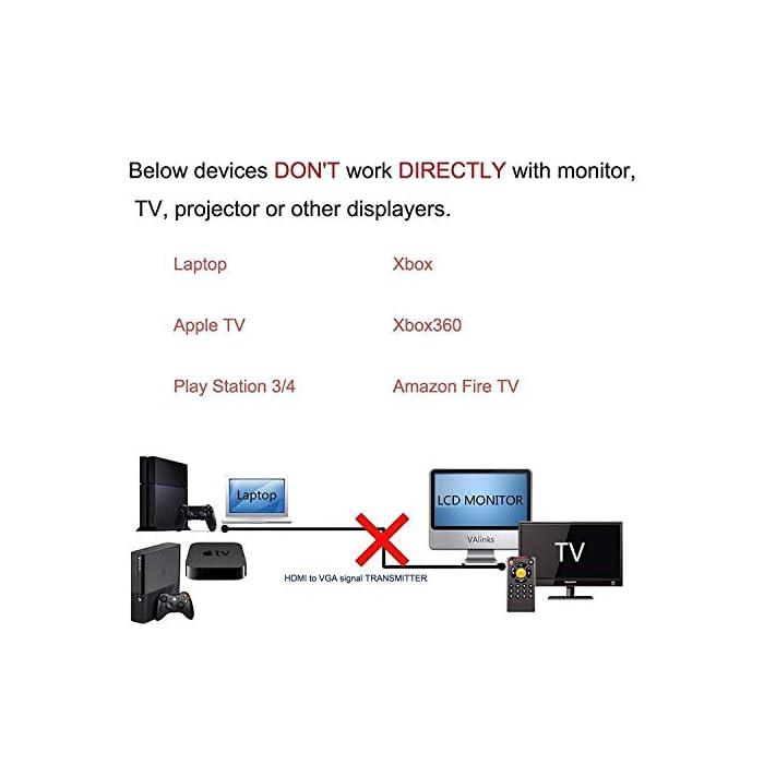 41BB%2BtOlCeL Haz clic aquí para comprobar si este producto es compatible con tu modelo Cable HDMI macho a VGA macho HD-15. Este cable de HDMI a VGA es compatible con los siguientes dispositivos: reproductores de DVD de alta definición, receptores de HDTV, televisores, proyectores, receptores A/V y otros dispositivos equipados con HDMI.