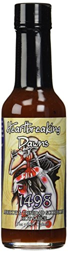Heartbreaking Dawns 1498 Trinidad Scorpion Sauce, 5 fl. (Apricot Ginger Sauce)