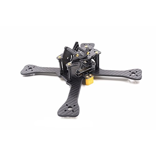 - BangBang GEPRC GEP-TX Chimp 4 5 6 Inch 180MM 210MM 230MM Carbon Fiber Frame Kit with PDB LED XT60 Camera Moun (1Set: Wheelbase 6 Inch)
