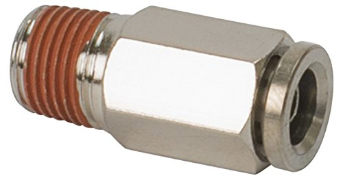 VIAIR 11472 1/4'' NPT(M) to 1/4'' Airline Straight Fitting (DOT Approved), 4 Pack by VIAIR