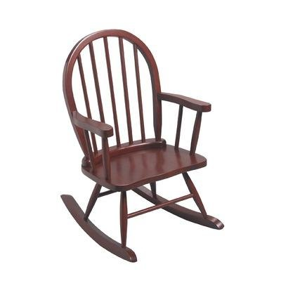 GiftMark Children's Windsor Rocking Chair in Cherry Color -