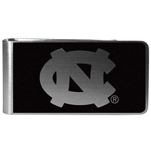 Carolina Clip (NCAA North Carolina Tar Heels Black & Steel Money Clip)