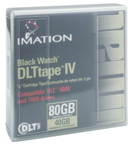 Imation IMN11776 Black Watch DLT Tape IV (1-Pack) (Discontinued by Manufacturer)
