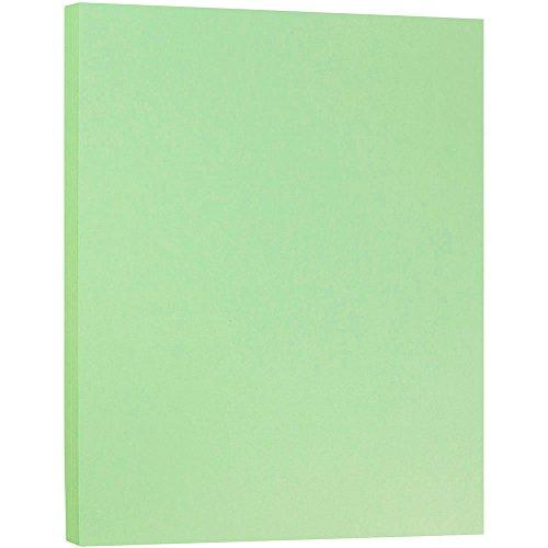 JAM PAPER Matte 28lb Paper - 8.5 x 11 - Mint Green - 50 Sheets/Pack
