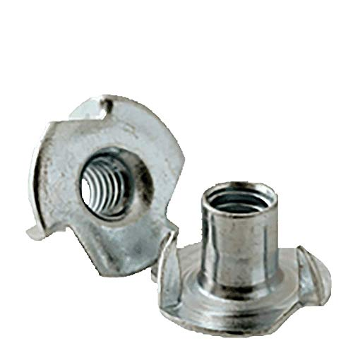 3/8''-16 x 7/16'' 3 Prong Tee Nuts/Steel/Zinc Plated (Quantity: 1800 pcs) by Newport Fasteners (Image #1)