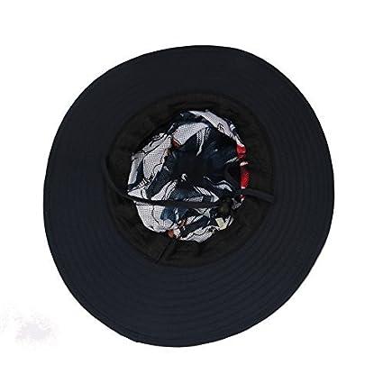3e4e1b507c4659 Amazon.com: ISEYMI Wide Brim Caps Sun Block Collapsible Hats Fishing/Golf  Hat Sombriolet Sun Hat UPF50+ for Men/Women(FBA Shipment): Clothing