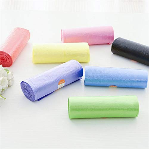 liaoshan life New Material Even Broken One - Time Clean Bag Household Trash Bag(Only 1 Roll- 20Pcs/Rolled