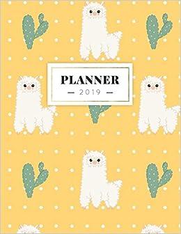 Planner 2019: Semanal Diario Organizador Calendario | Alpaca ...