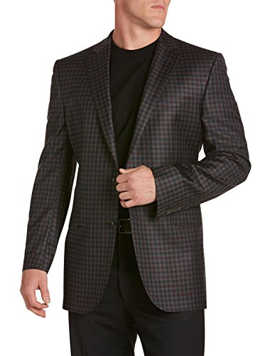 Jack-Victor-Big-Tall-Gingham-Sport-Coat