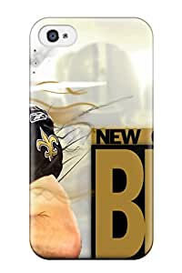 VBRpoDF11496bvtst Tpu Phone Case With Fashionable Look For Iphone 4/4s - Drew Brees