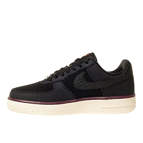 Nike Mujeres Air Force 1 07 Zapatillas De Ante 749263 Zapatillas De Deporte Zapatos Negro