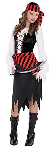 Juniors Buccaneer Beauty Costume Size Medium (8-10) (Buccaneer Costumes)