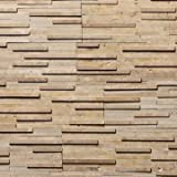 Koni Stone Citali Series Cibeles 8 sq. ft. Panel 6 in. x 24 in. x 0.50 in. Natural Stone