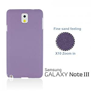OnlineBestDigital - Frosted Surface Hard Back Plastic Case for Samsung Galaxy Note 3 N9000 - Purple