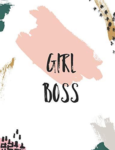 Girl Boss: Dot Grid Journal/ Planner 7.44*9.69