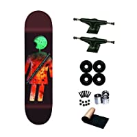 Girl Alex Olson Paris Art Dump 8.0 Skateboard Deck Complete from Girl