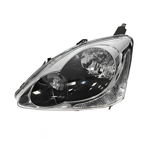 Headlight Headlamp Driver Side Left LH for 04-05 Honda Civic (Honda Civic Headlight Lh Driver)