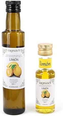 Aceite de oliva virgen extra y LIMON BIO 100 ml