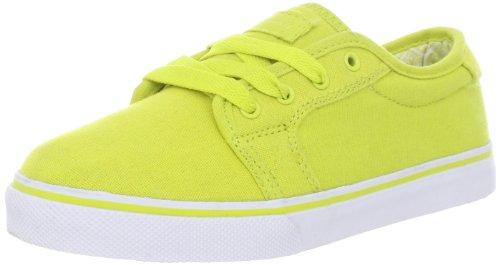 Fallen Forte Kids Skate Shoe (Little Kid/Big Kid),Fluoroscent Yellow/White,1 M US Little Kid