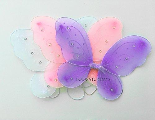 [Lolasaturdays 3 fairy wings] (Dress Up Fairy Wings)