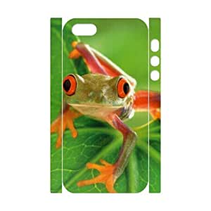 ANCASE Cell phone Protection Cover 3D Case Frog For Iphone 5,5S