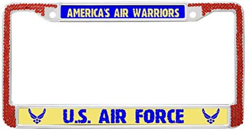 Amazon.com  GND America s AIR Warriors License Plate Frame ... 20a9643335