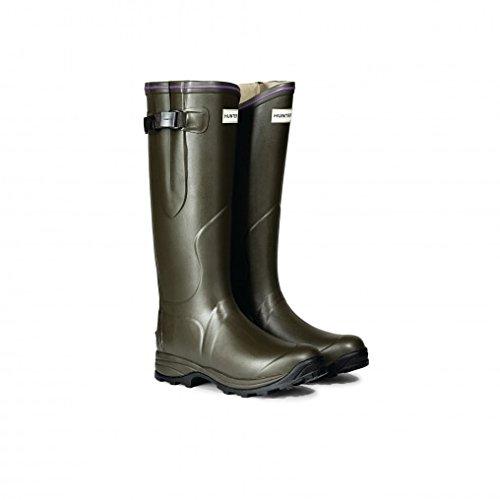 Hunter Boot Balmoral Lady Neoprene Boot - Women's Dark Olive, 9.0