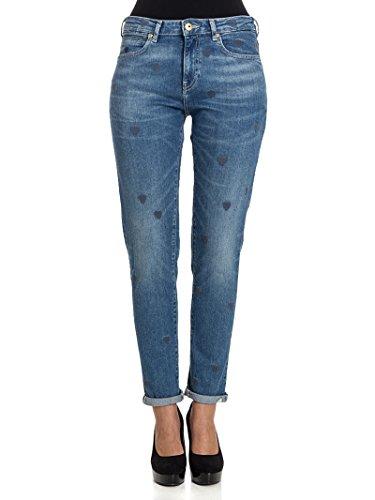 Scotch & Soda Femme 138674051453 Bleu Coton Jeans