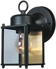 Designers Fountain 1161-BK Value Collection - Farol de pared, color negro