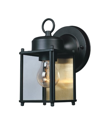 - Designers Fountain 1161-BK Value Collection Wall Lanterns, Black