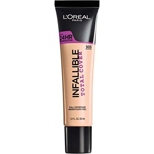 L'Oréal Paris Infallible Total Cover Foundation, Nude Beige, 1 fl. -