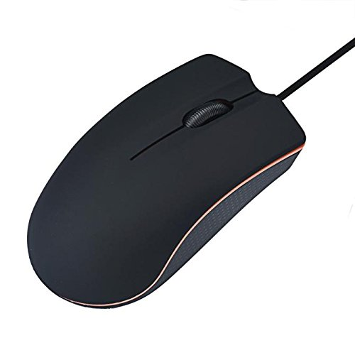 Cywulin1200 DPI Optical USB Wired Game Mouse Mice For PC Laptop Computer for Laptop, Desktop, Tablet, Pro Game Notebook, PC (1200 Pro Usb)