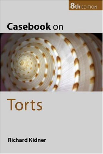 Read Online Casebook on Torts ebook