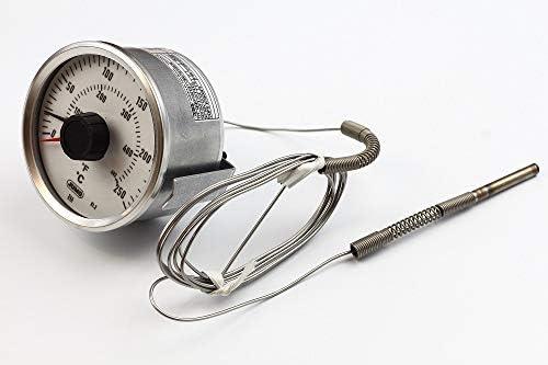 Fish & Chip - Termostato JUMO de 80 mm de diámetro, Preston ...