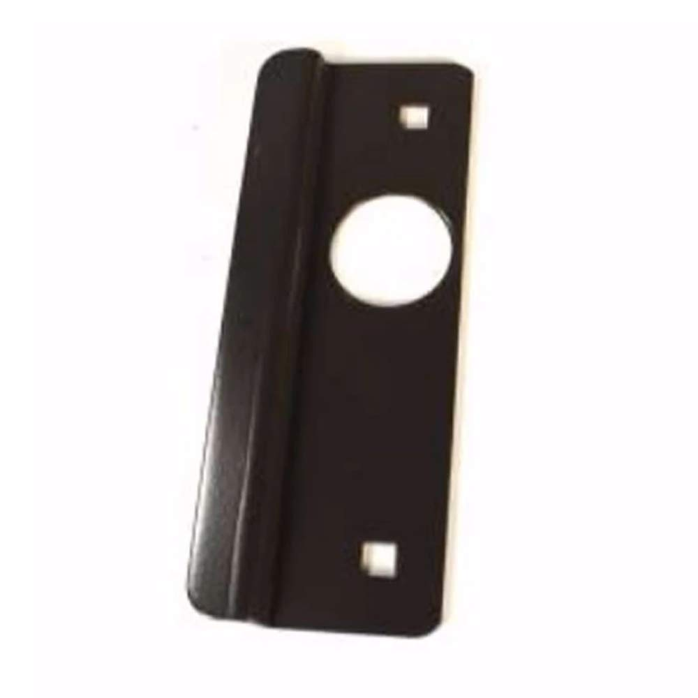 2-5//8 x 7 Don-Jo LP-307-DU Latch Protector For Aluminum Entry Out-swinging Doors