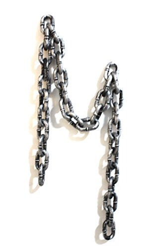 Plastic Chain Links Costume Accessory Halloween Decoration-6 feet -
