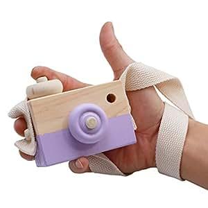 sourban madera cámara de juguete niños cuello cámara fotografía foto Prop Decoración del hogar Regalos