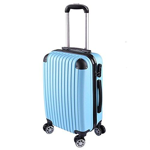 AW Luggage Rolling Lockable Trolley