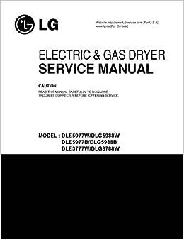 Lg dlg5988 dle5977 dle3777w dlg3788w service manual: lg.