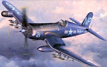 Hasegawa 1/48 F4U-5N Corsair (Usmc F4u Corsair)