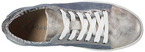 Piazza 850335, Zapatos de Cordones Brogue para Mujer Blau (Blau)