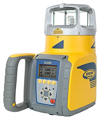 Spectra Precision Lasers / Trimble GL612 Single-Slope Grade Laser with Hl750 Laserometer, Rod Clamp, Rc602 Remote, 10 Ah Nimh Batteries and Charger