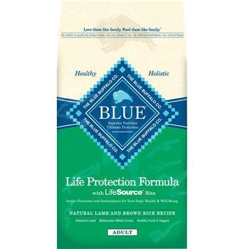 Blue Buffalo Lamb and Brown Rice Adult Dog Food, My Pet Supplies