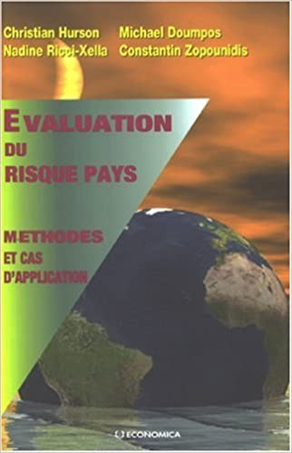 Livre gratuits en ligne Evaluation du risque pays : Méthodes et cas d'application pdf