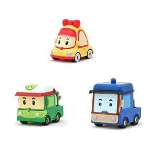 Robocar Poli Diecasting Set: Beni, Mini, Rody (Non-transformer) (NEW)